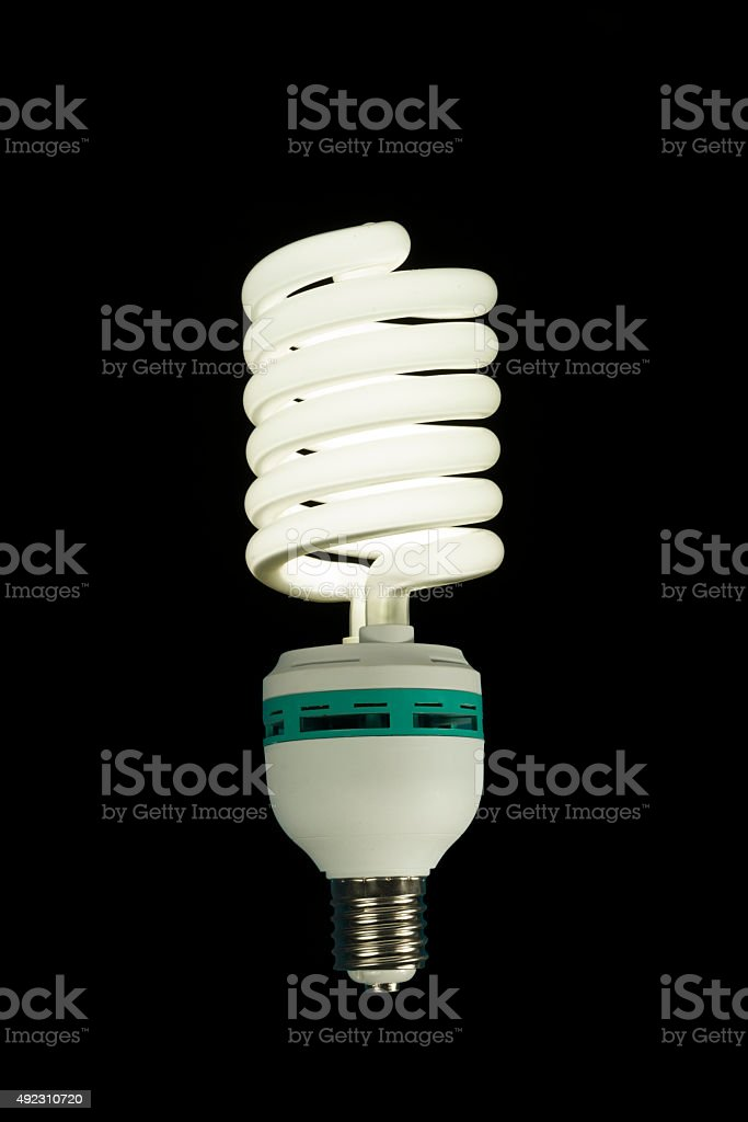 Energy Saving Light stock photo