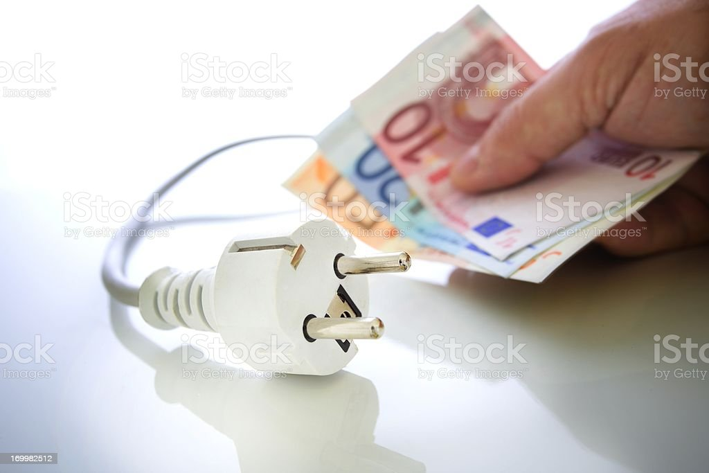 Energy saving royalty-free stock photo