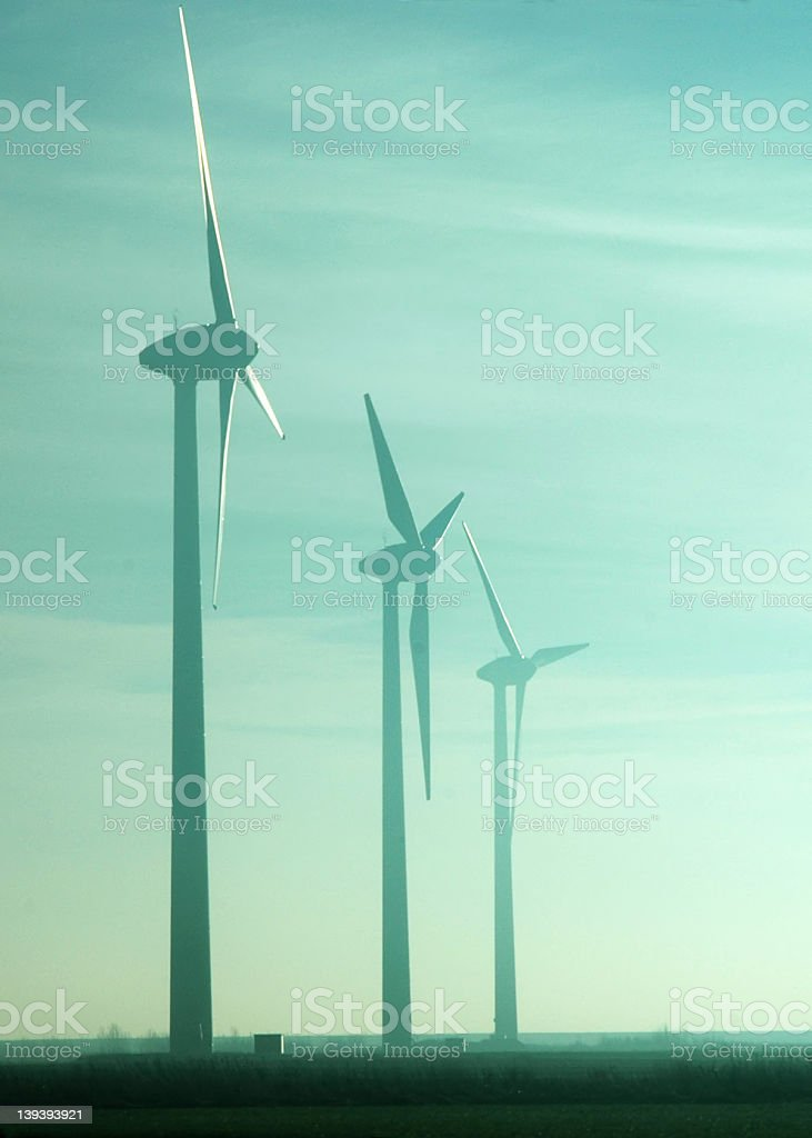 energy source of the future? stock photo