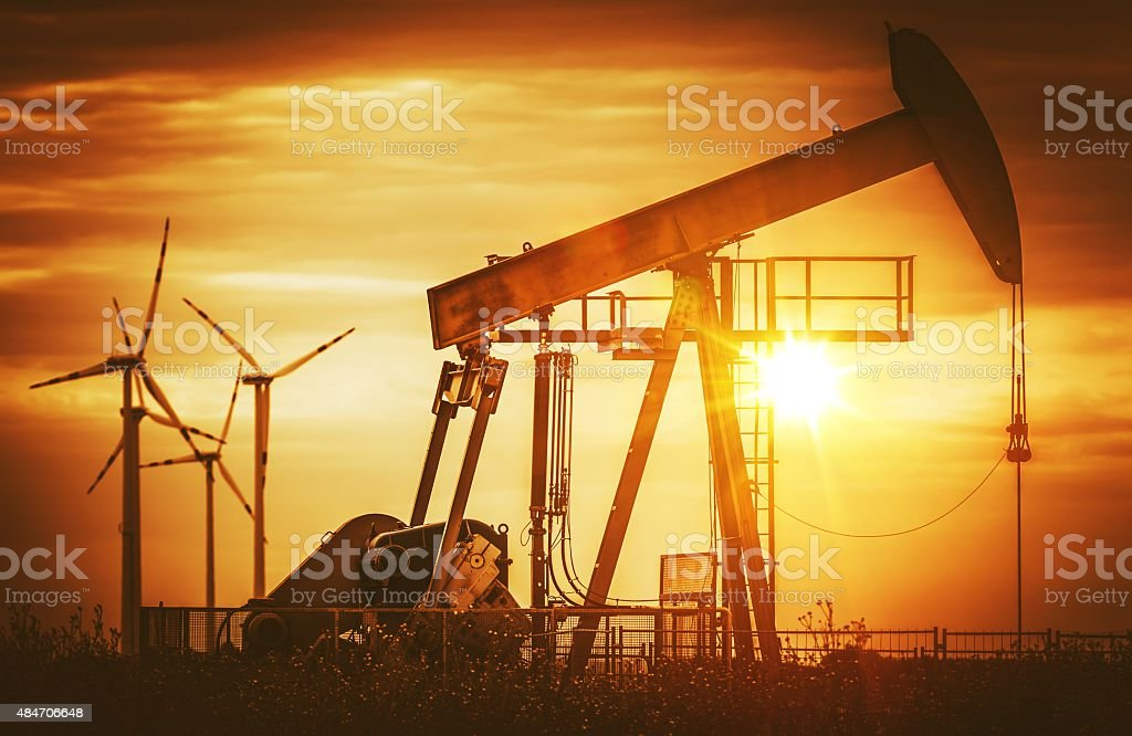 Energy Sources stock photo
