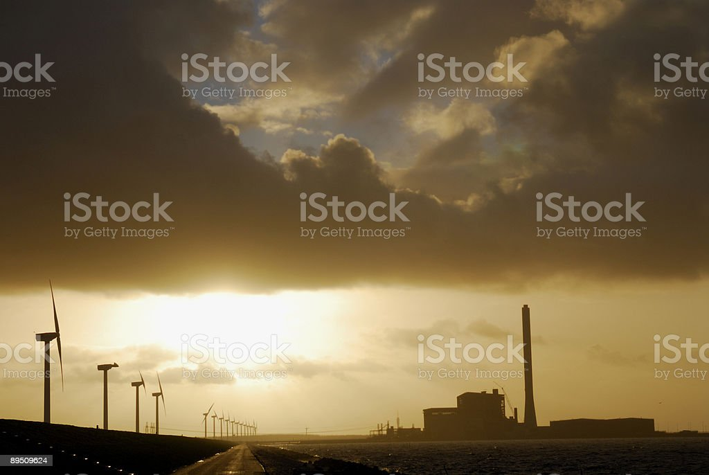 Energy Sources royalty-free stock photo
