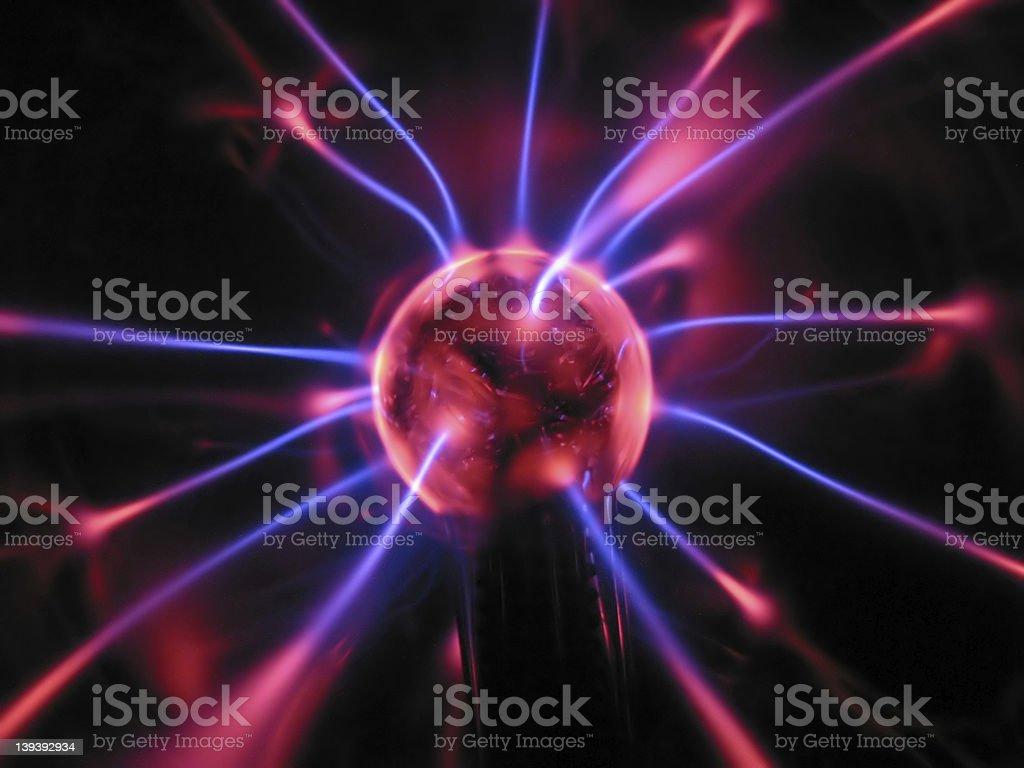 Energy sphere royalty-free stock photo