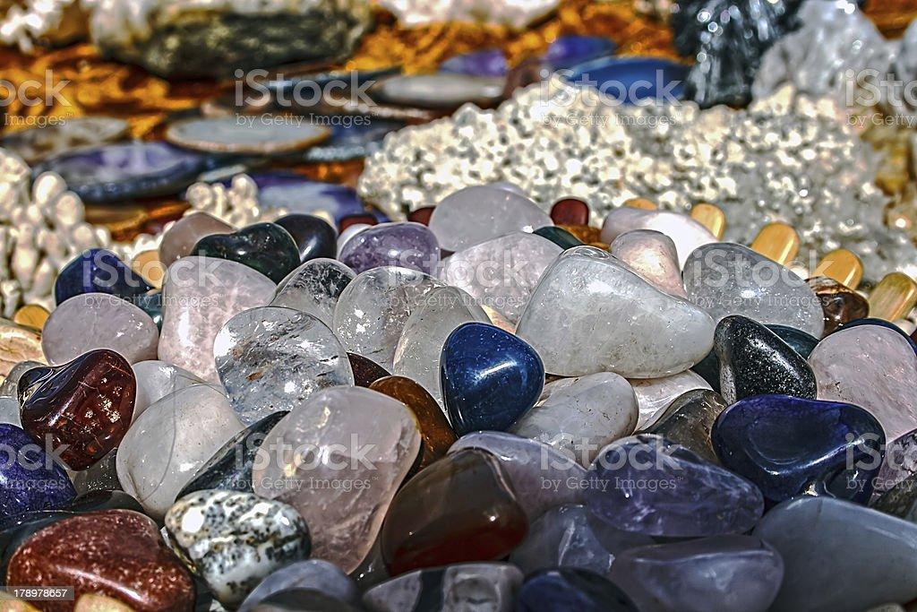Energy stones royalty-free stock photo