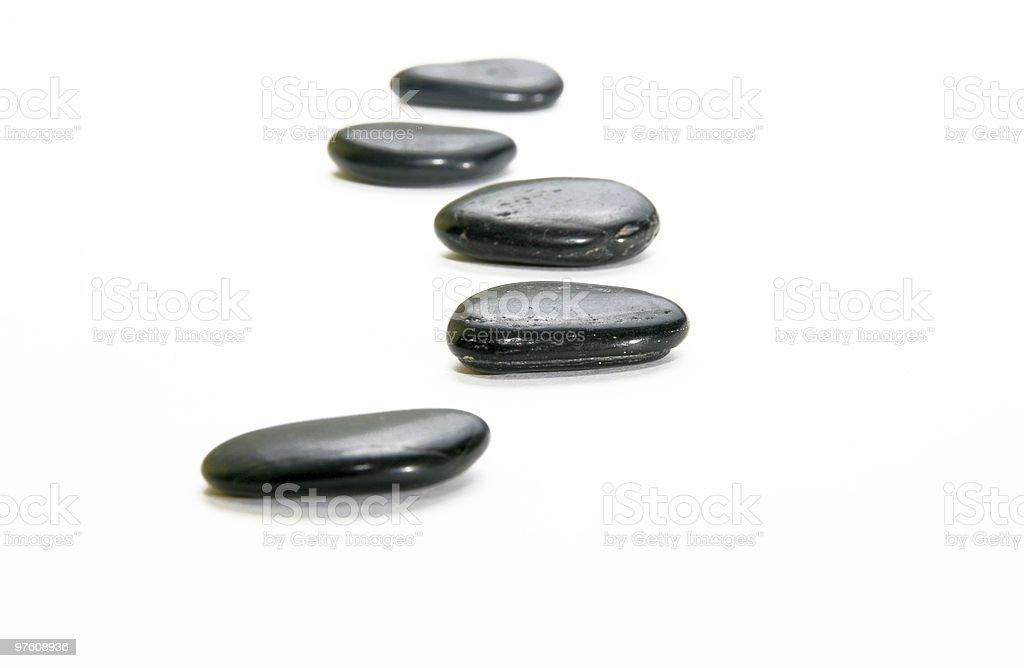 Energy stones stock photo