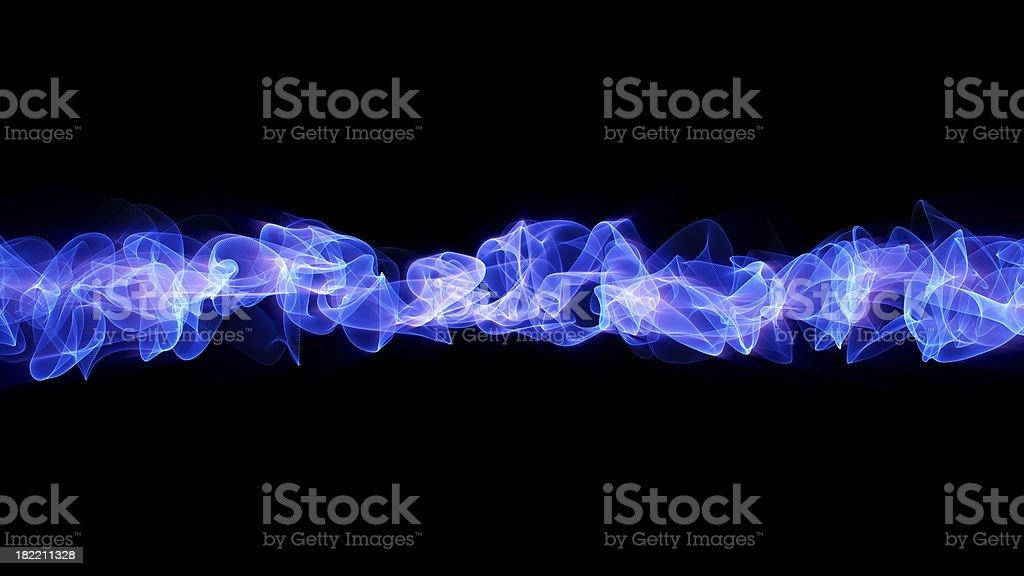 Energy Stream 2 - Blue stock photo
