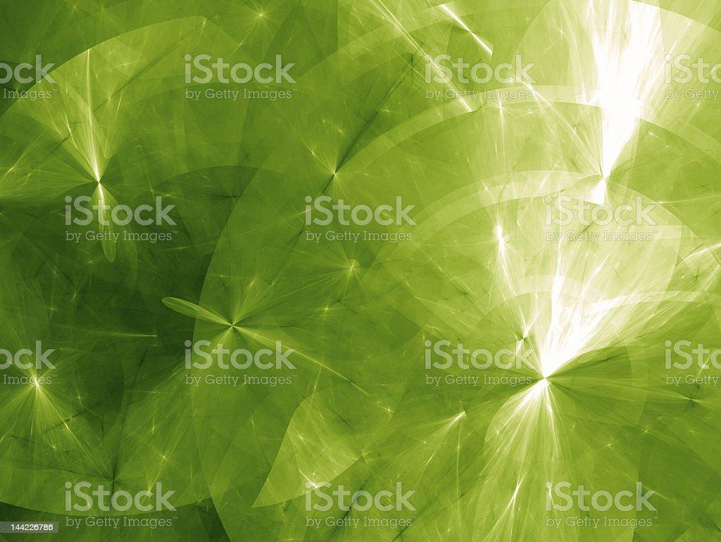 Energy waves with light glaring through stock photo