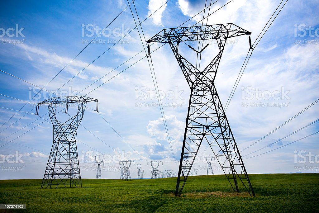 Energy: what is the cost? royalty-free stock photo