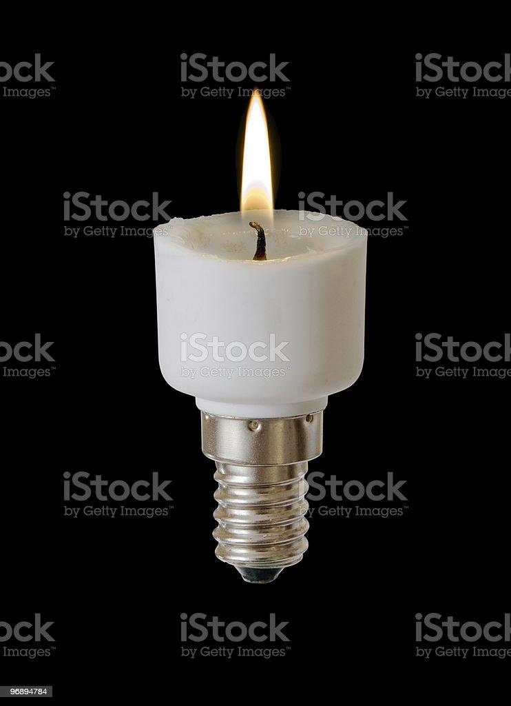 energy-saving lamp royalty-free stock photo
