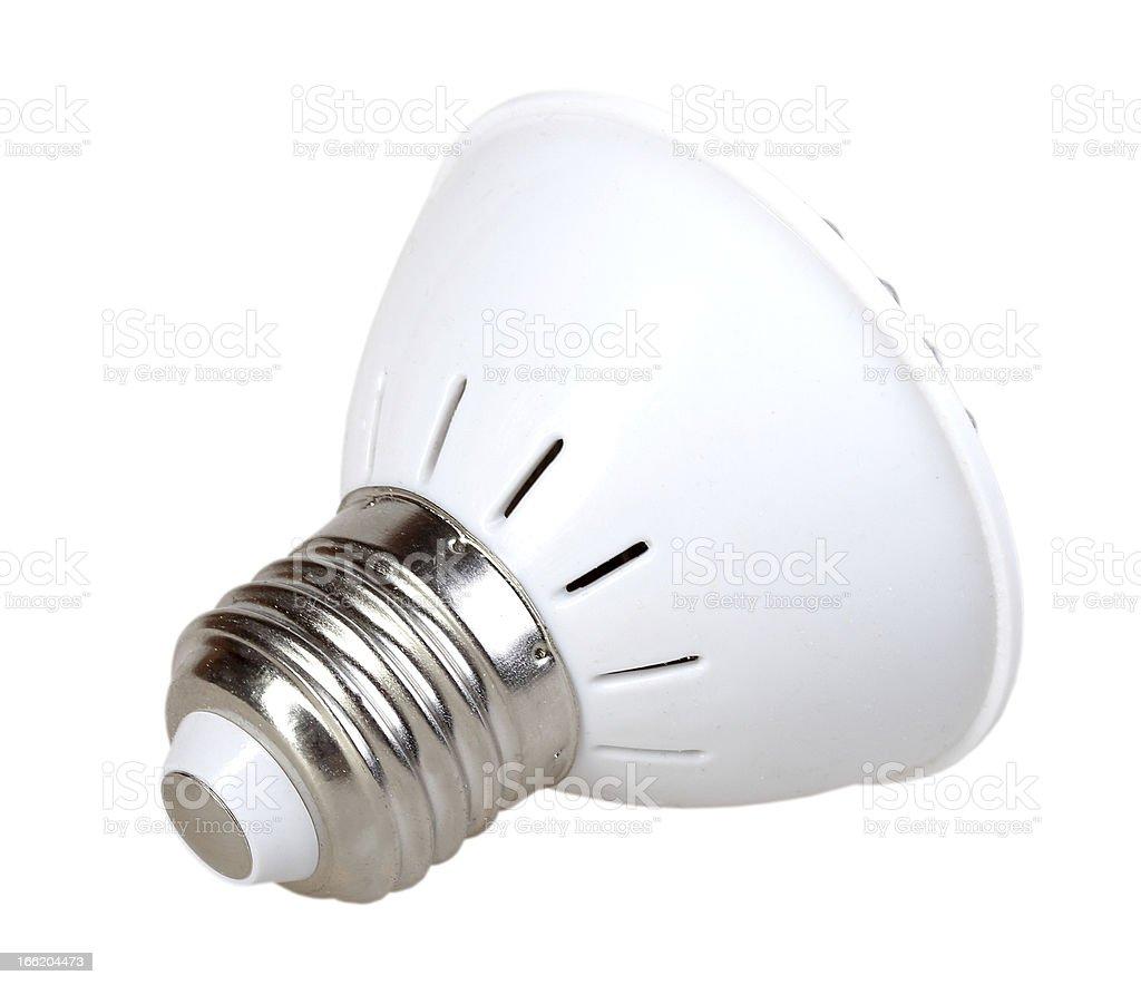 Energy-saving LED lamp royalty-free stock photo