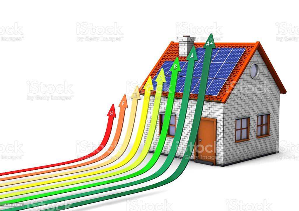 Energy-Saving Measures stock photo