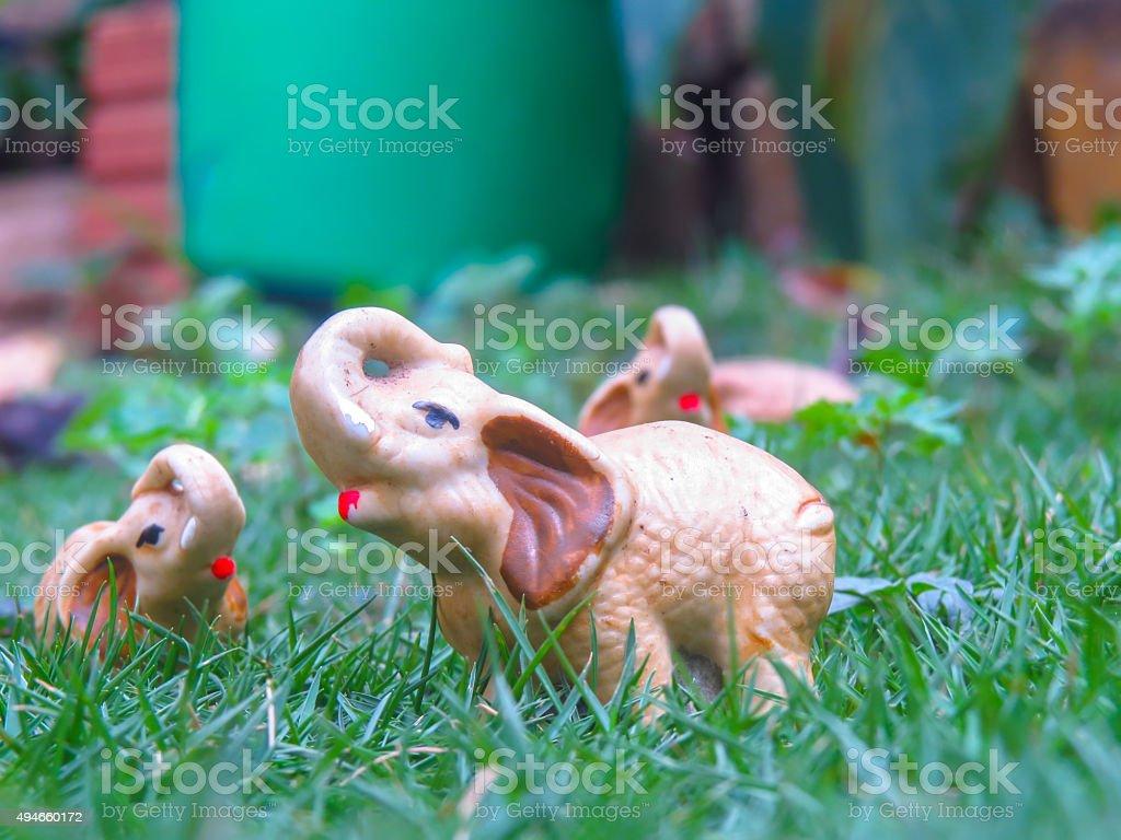 Enfeite jardim stock photo