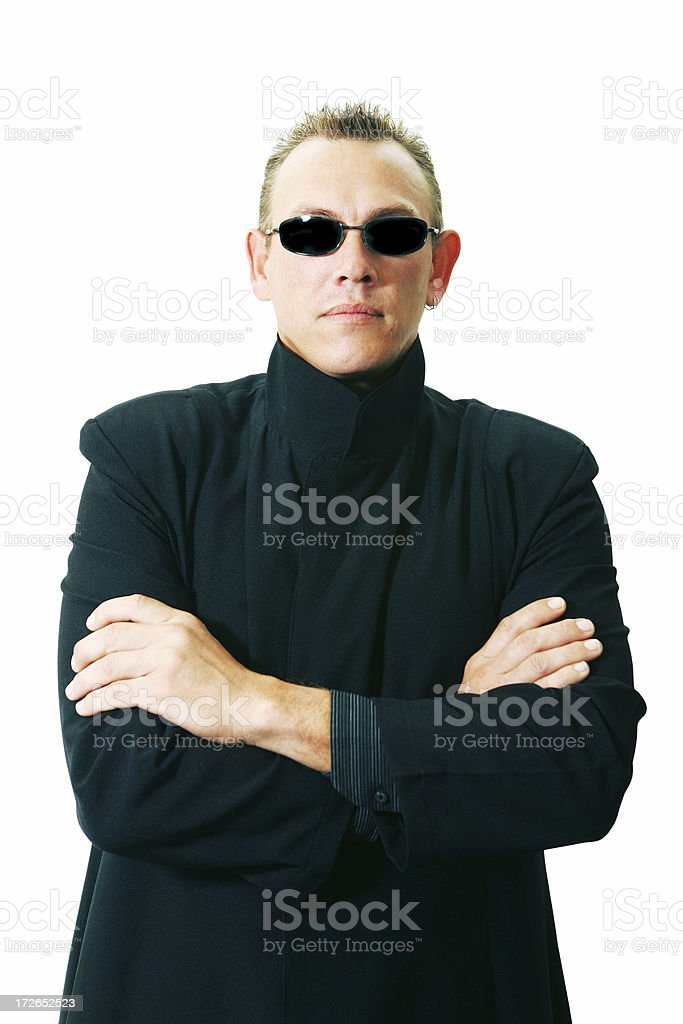 Enforcer stock photo