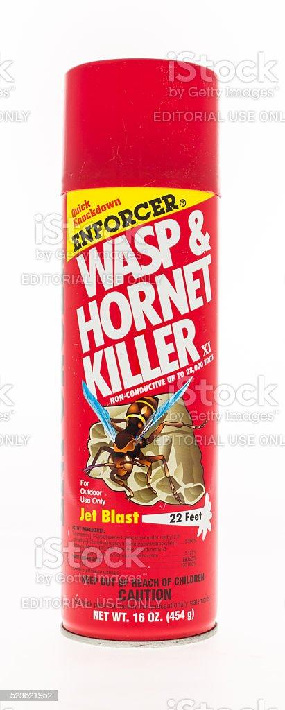 Enforcer Wasp and Hornet Killler stock photo