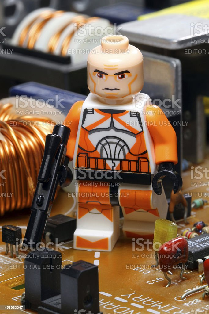 Enforcing Galactic Law stock photo