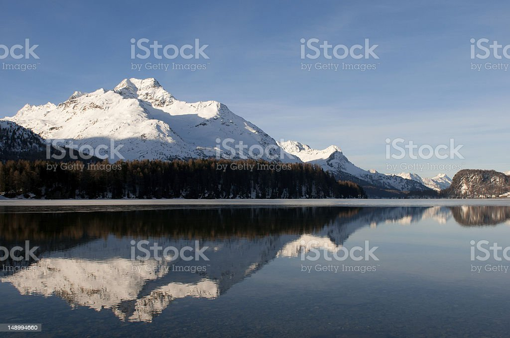 Engadine royalty-free stock photo