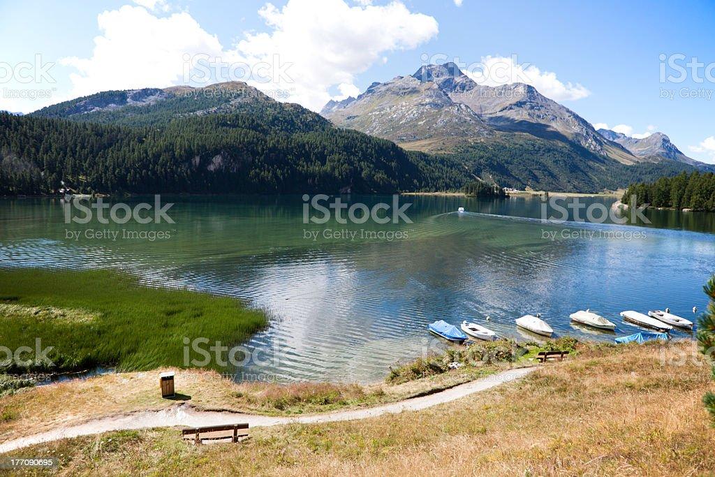 Engadine(Switzerland) royalty-free stock photo