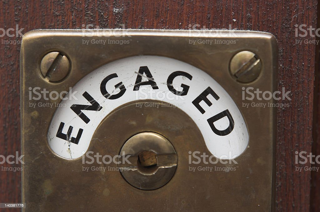 Bathroom Sign Occupied occupied bathroom sign pictures, images and stock photos - istock
