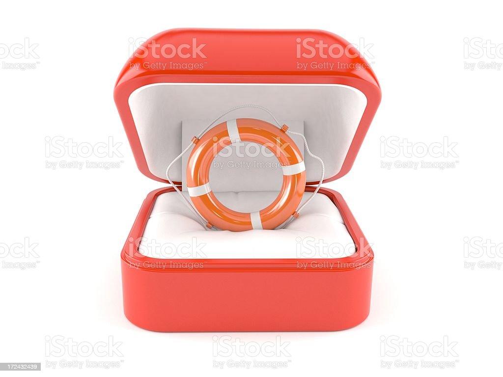 Engagement help stock photo
