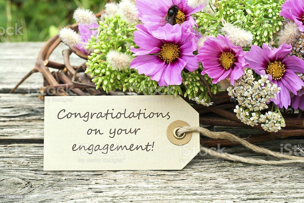 Engagement royalty-free stock photo