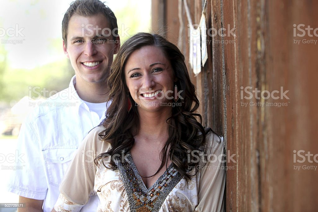 Engagement Portraits stock photo
