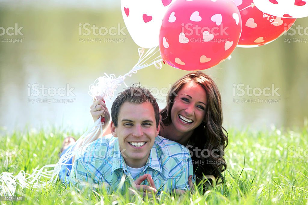 Engagement Portraits royalty-free stock photo