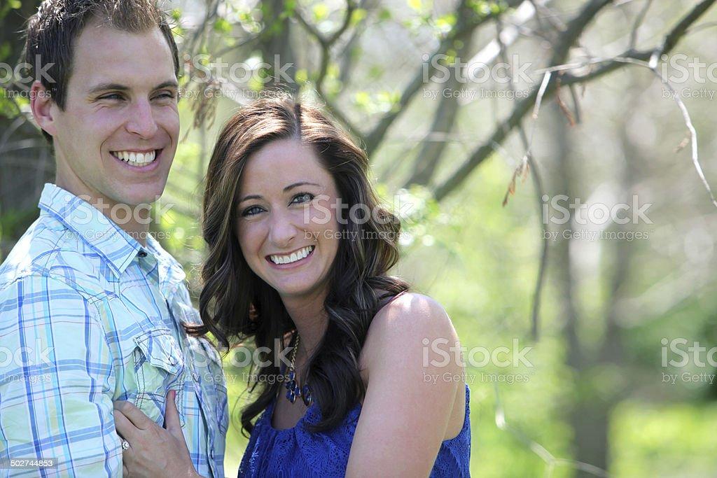 Engagement Portraits royalty-free stock photo