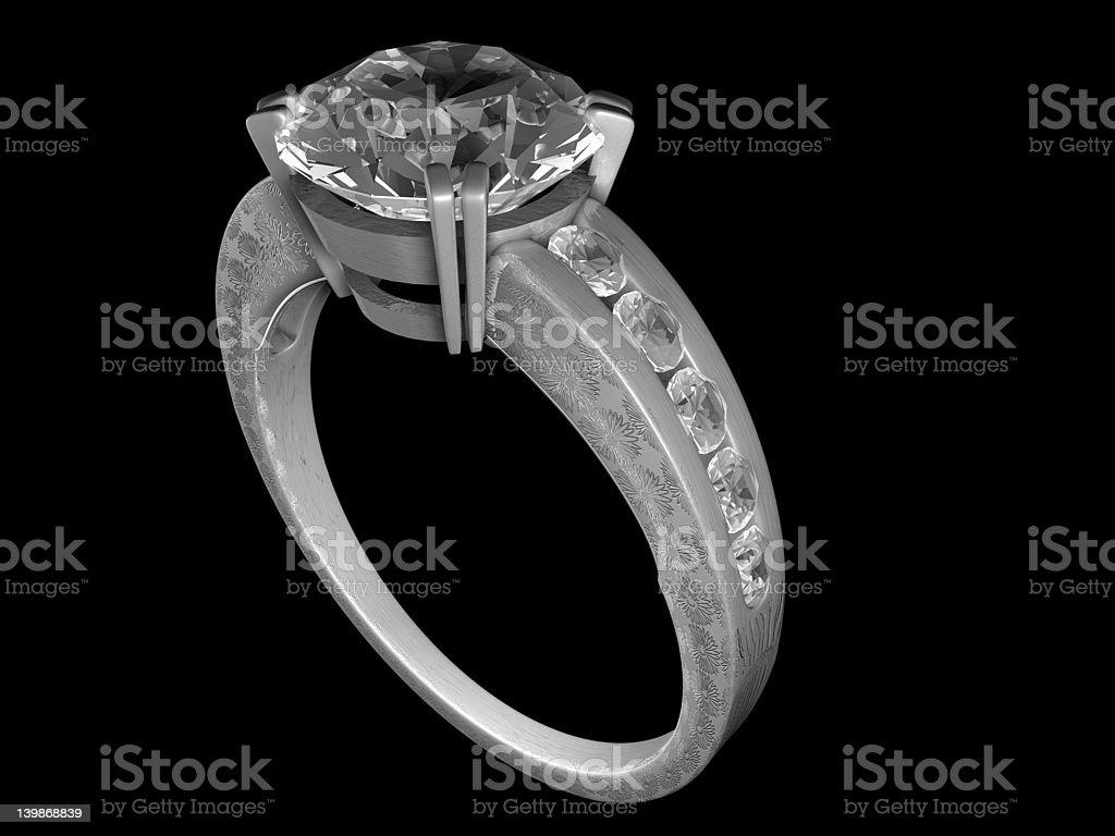 Pierścionek zaręczynowy zbiór zdjęć royalty-free