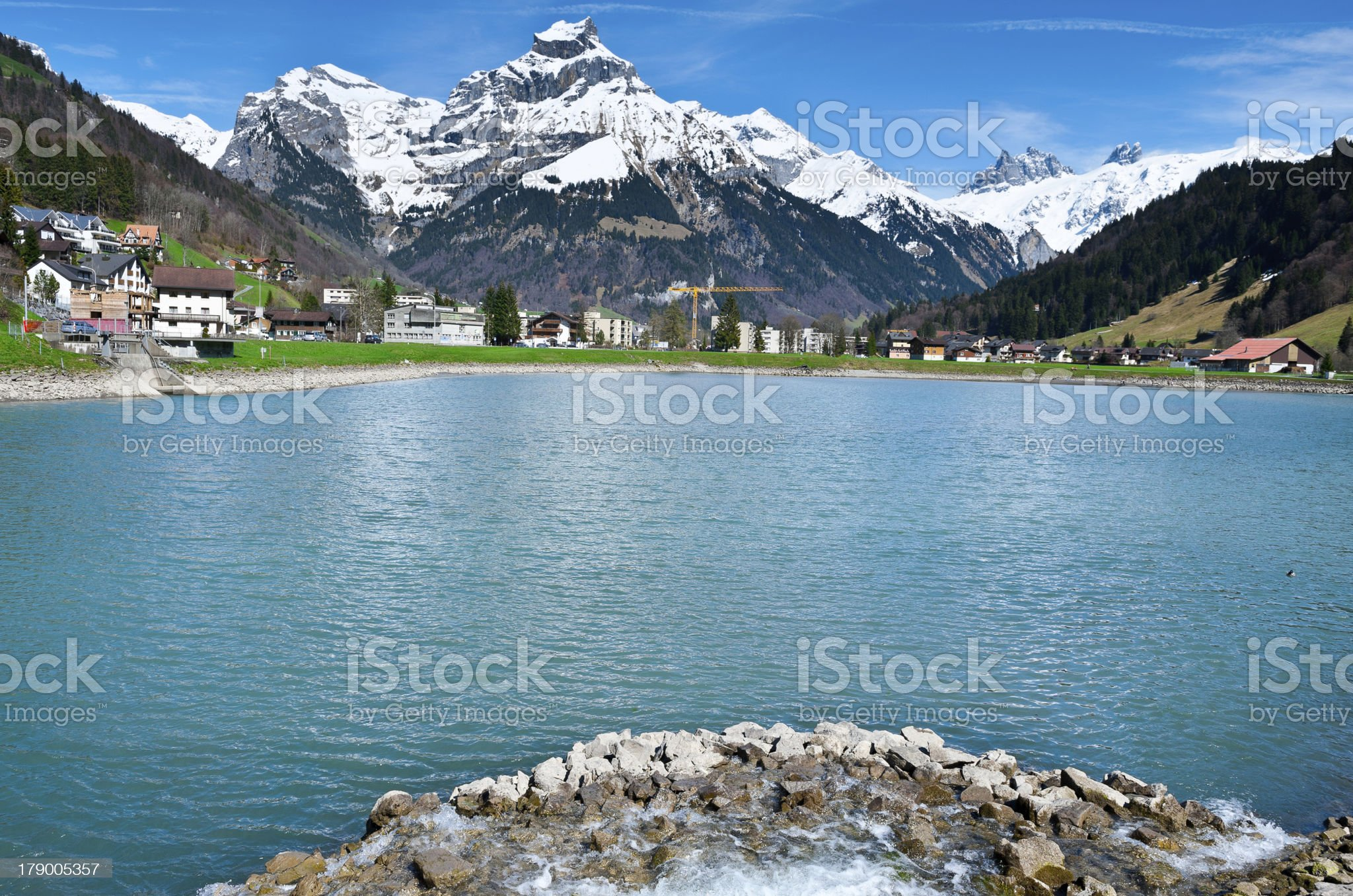 Engelberg royalty-free stock photo