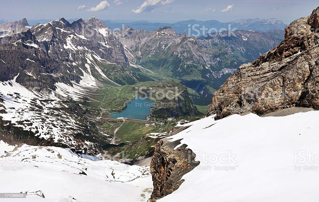 Engelberg valley, Switzerland stock photo