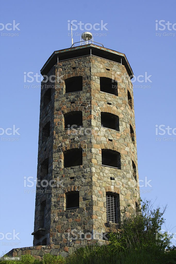 Enger Tower - Duluth, MN stock photo