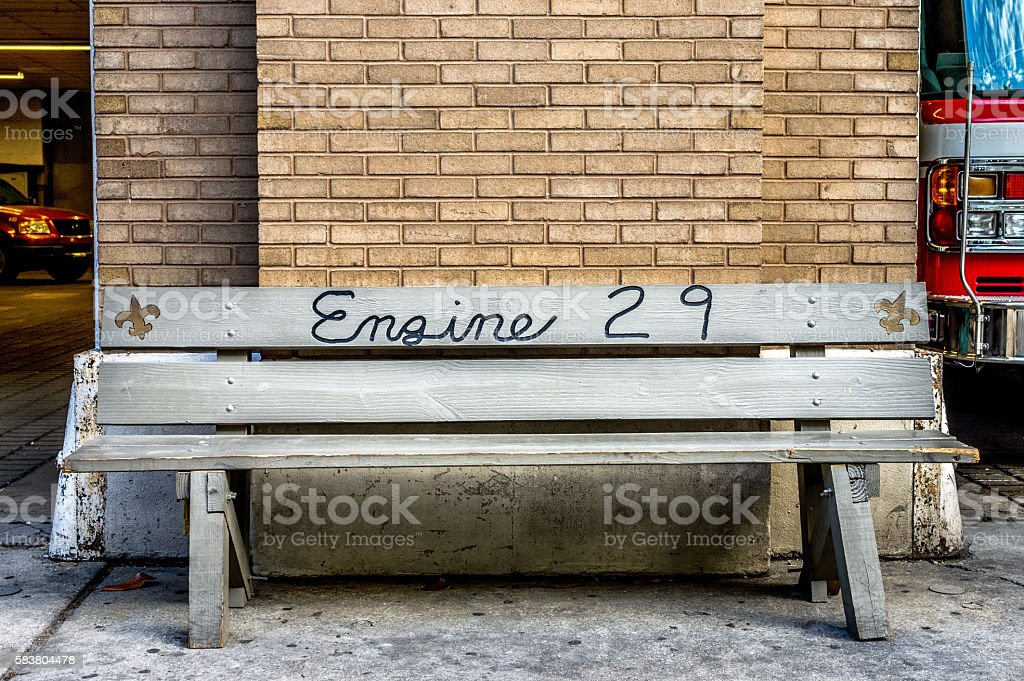 Engine 29 Fire House in New Orleans LA stock photo