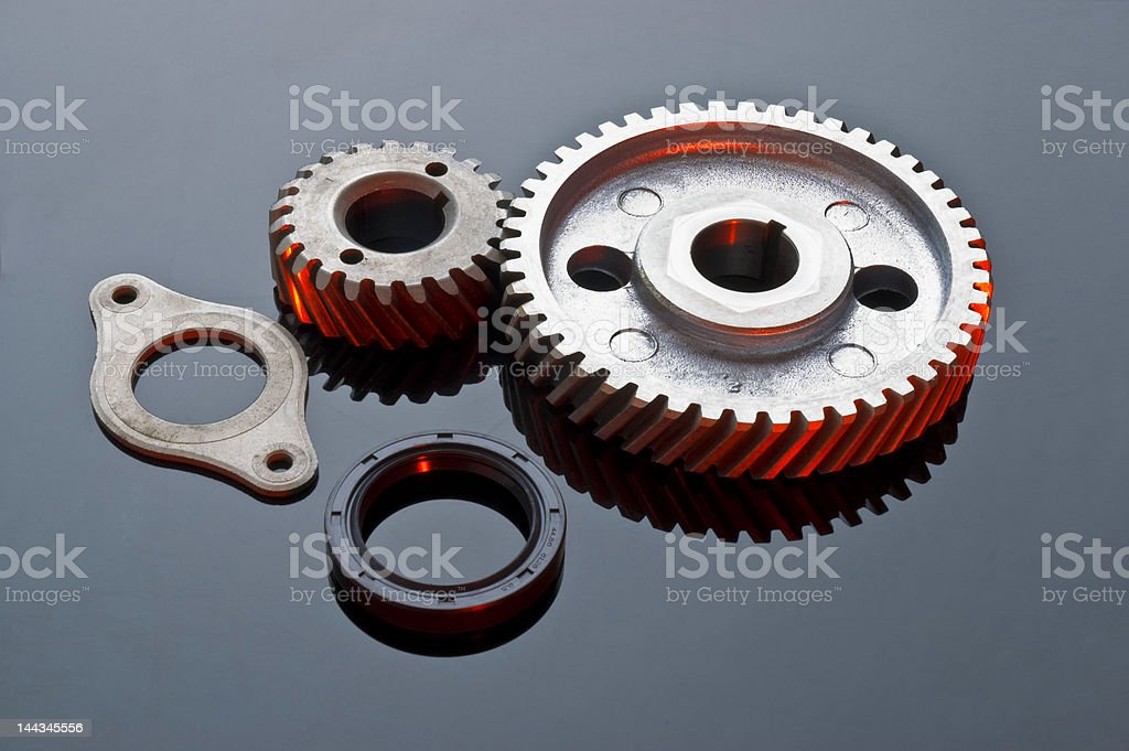 engine bits royalty-free stock photo
