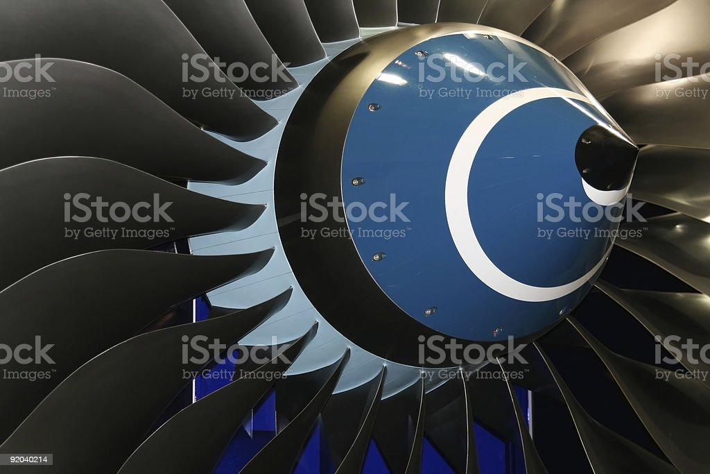 engine blades royalty-free stock photo
