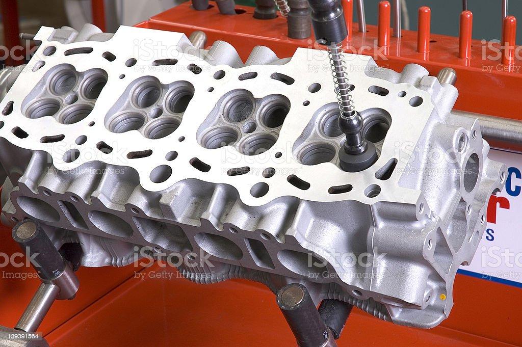 Engine Block royalty-free stock photo