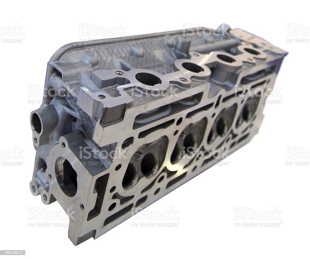 Engine block royalty-free stock photo