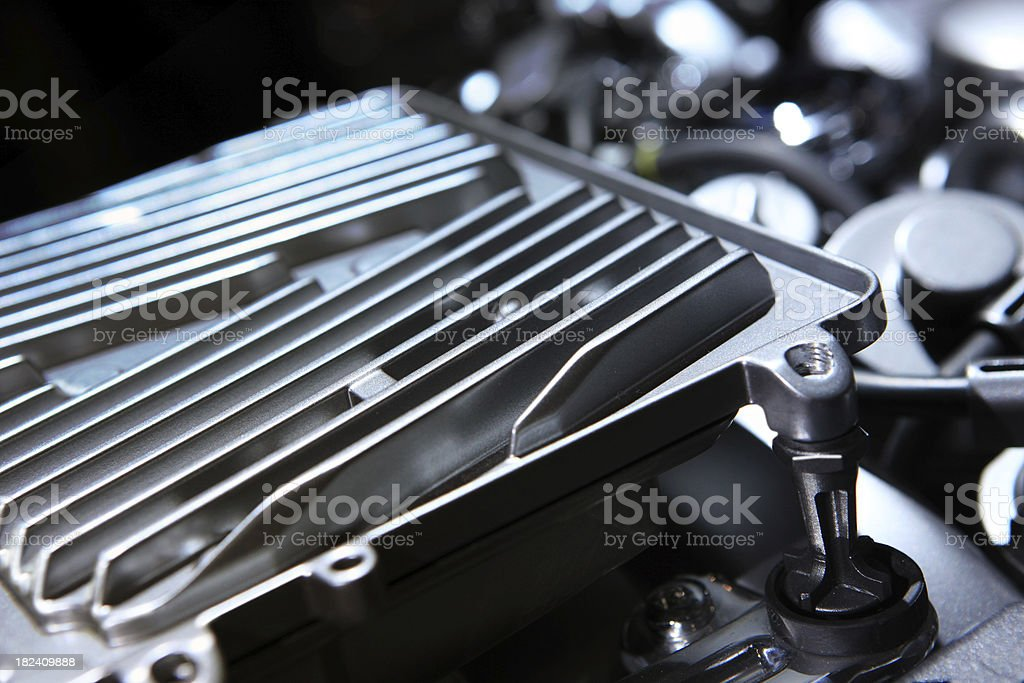 engine cooler plate royalty-free stock photo