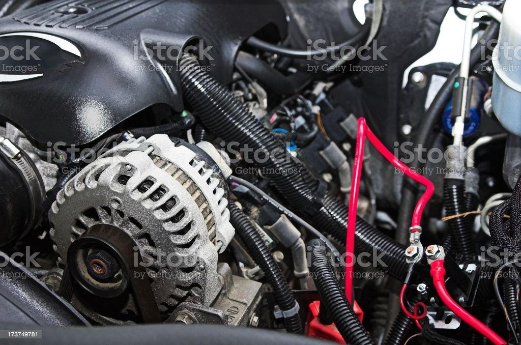 Engine detail royalty-free stock photo