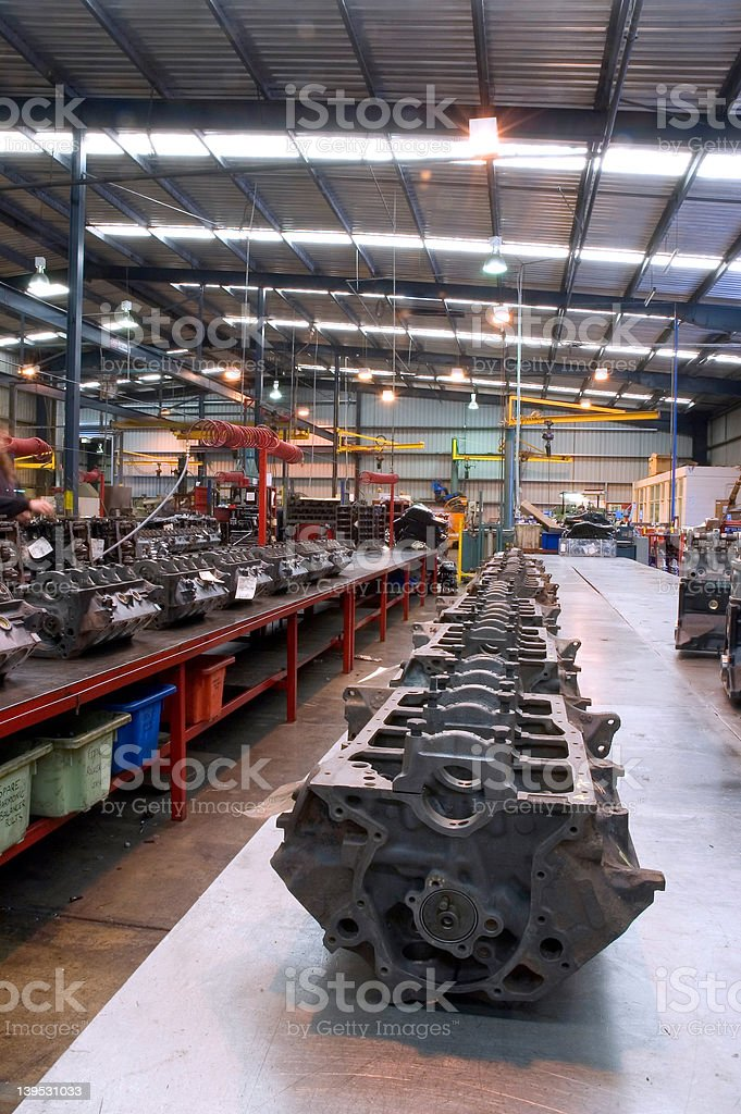 Engine Factory 2 royalty-free stock photo