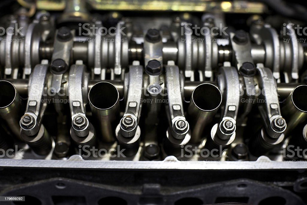 Engine Head - top view royalty-free stock photo