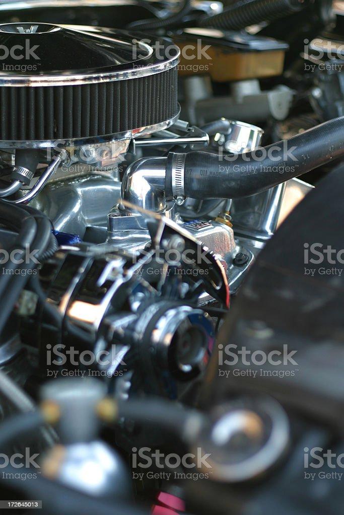 Engine Horsepower royalty-free stock photo