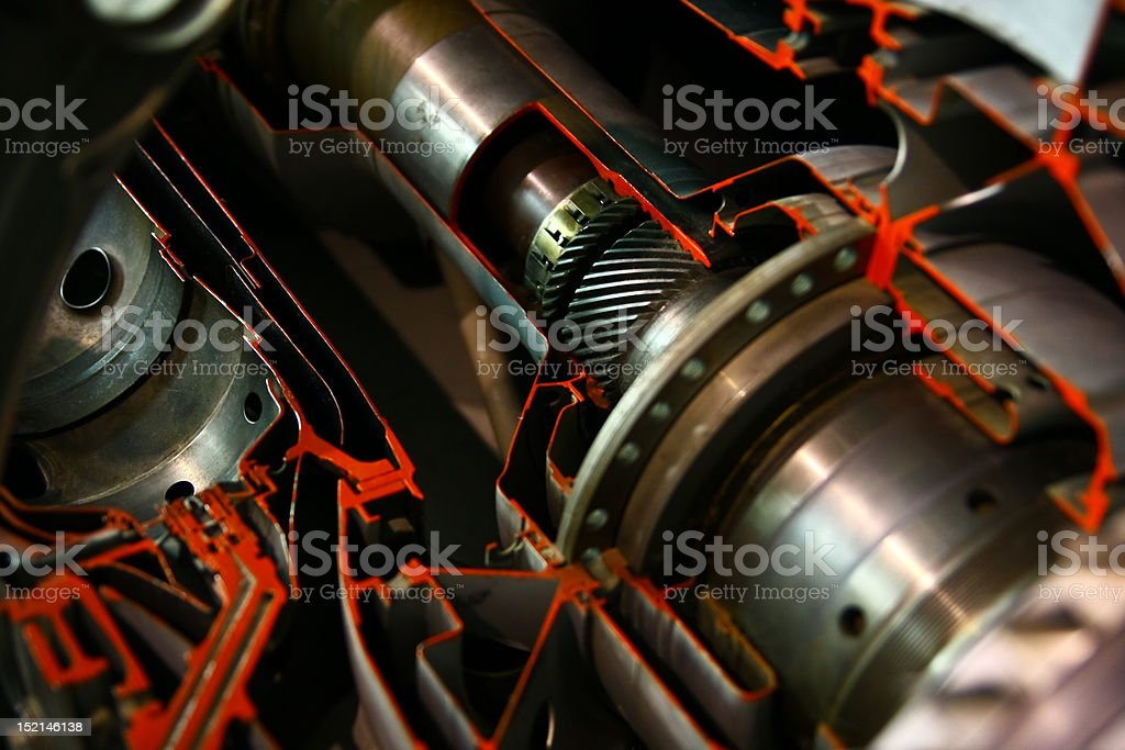 Engine inner works royalty-free stock photo