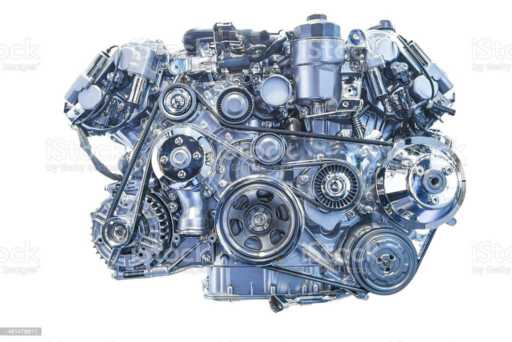 Engine Isolated stock photo