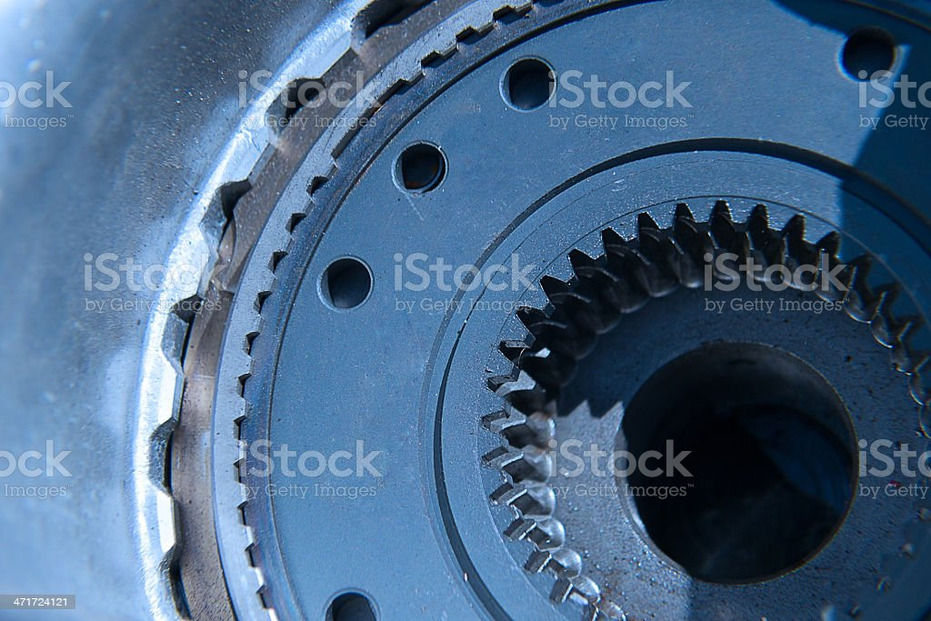 engine of a modern car. royalty-free stock photo