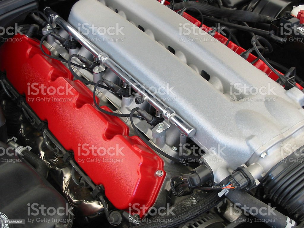 V-10 Engine (1) royalty-free stock photo