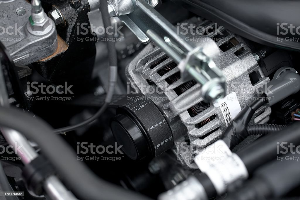 Engine royalty-free stock photo