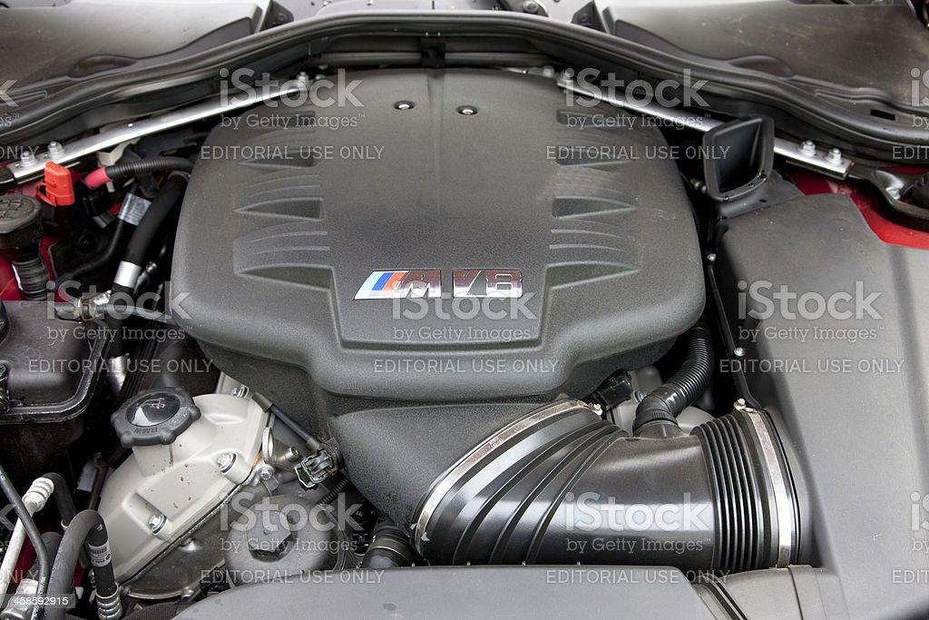 BMW M3 Engine royalty-free stock photo