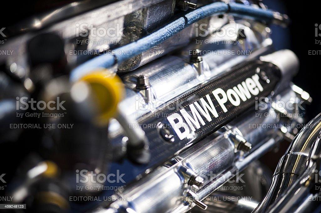 BMW Engine royalty-free stock photo