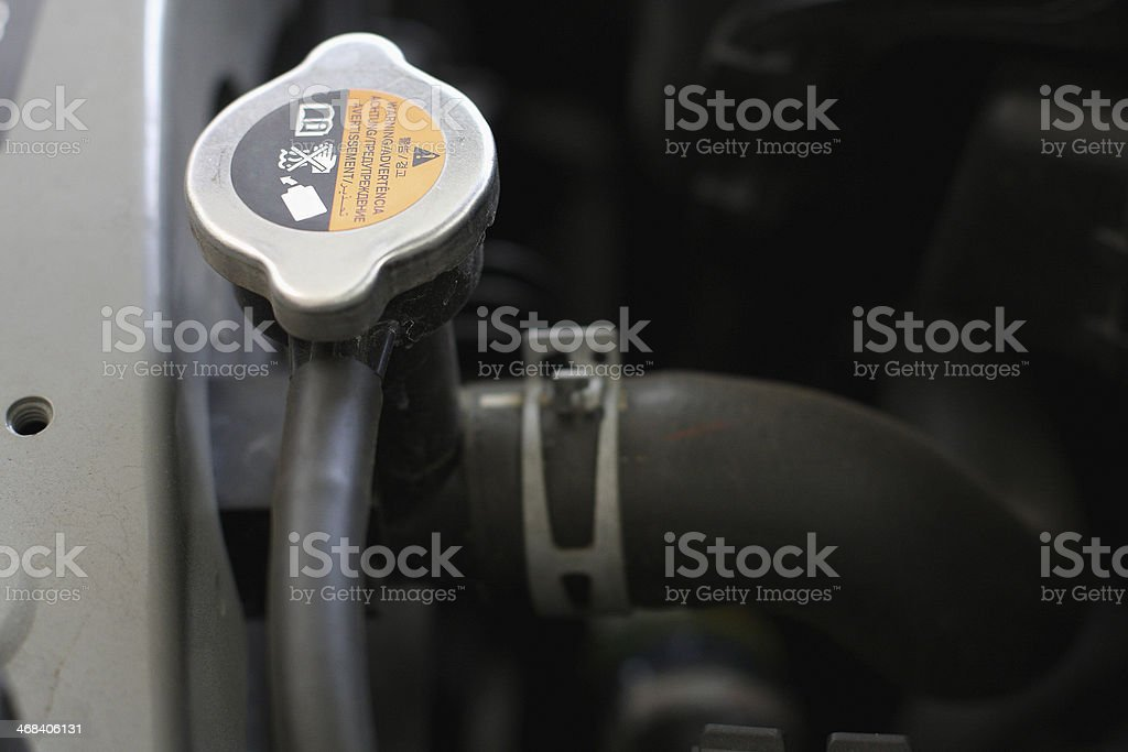 Engine Radiator cap royalty-free stock photo
