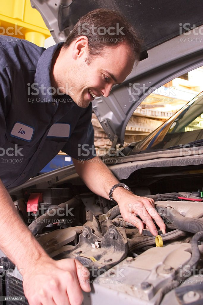 Engine Repair stock photo