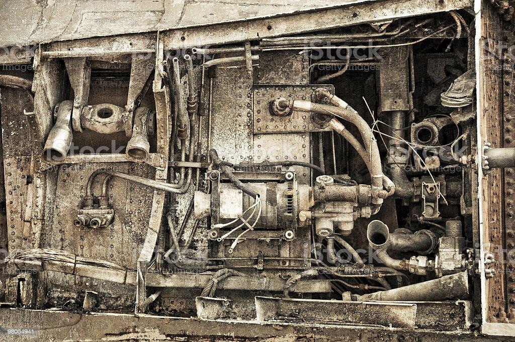 engine rust royalty-free stock photo